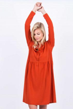 Blusenkleid in Orange