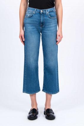 Jeans CROPPED ALEXA in Blau