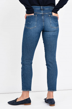 Jeans ROXANNE ANKLE in Mittelblau