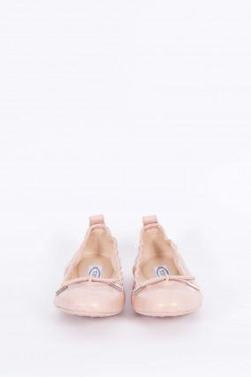 Ballerina mit Prägung in Rosé