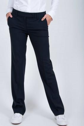Weite Hose in Navy