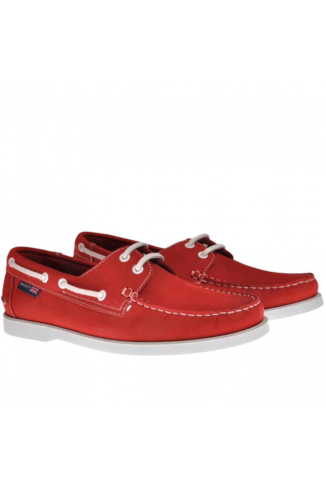 Bootsschuhe Rot