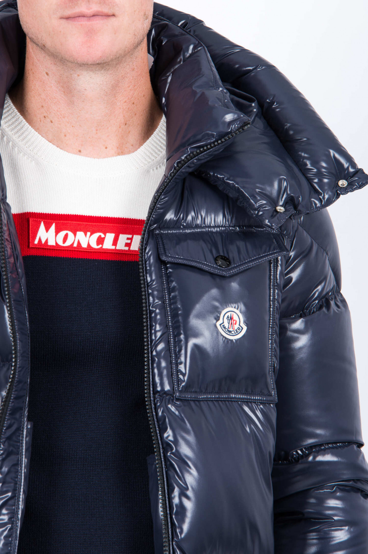 Moncler Jacken aus Polyester Schwarz Größe 1 6713910