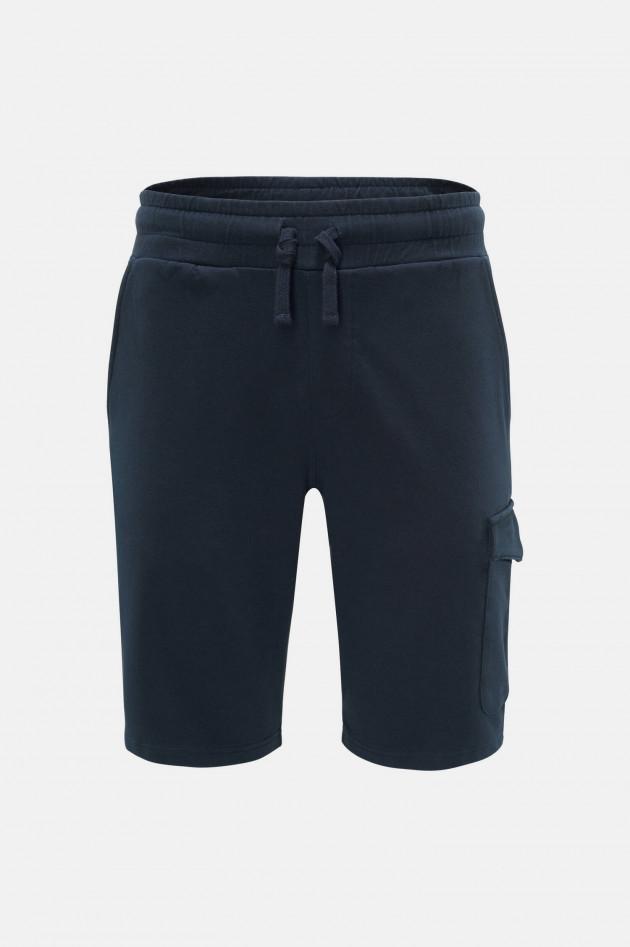04651/ Kurze Sweatpants in Navy