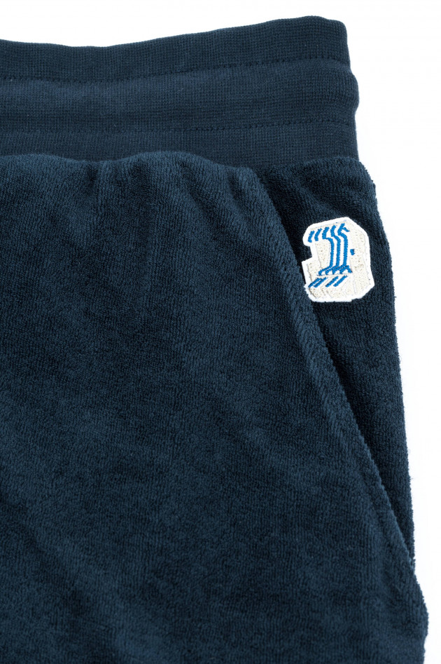 04651/ Frottee Shorts in Navy