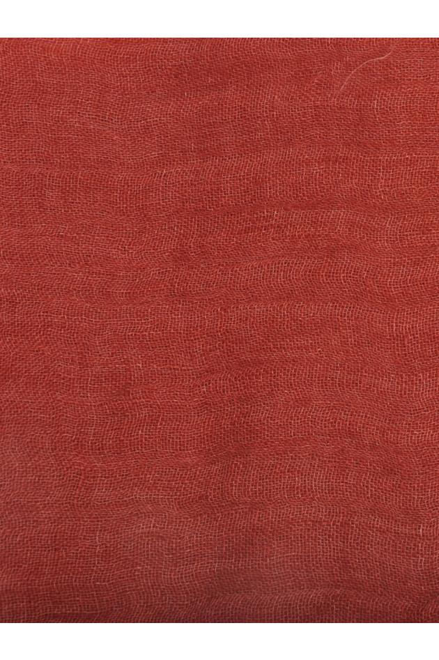 Brunello Cucinelli Leinenschal Rot