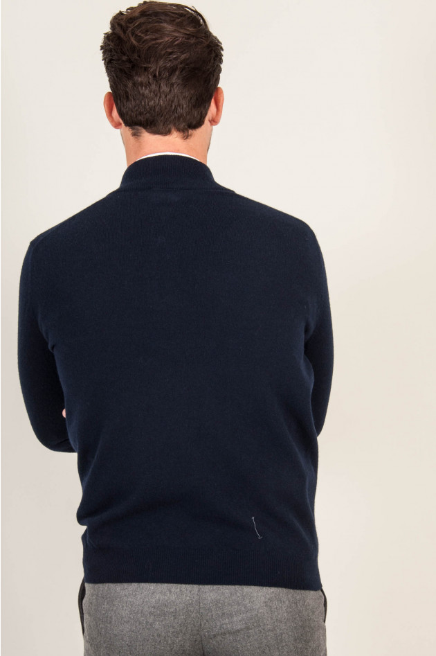 1868 Zipp - Pullover in Navy