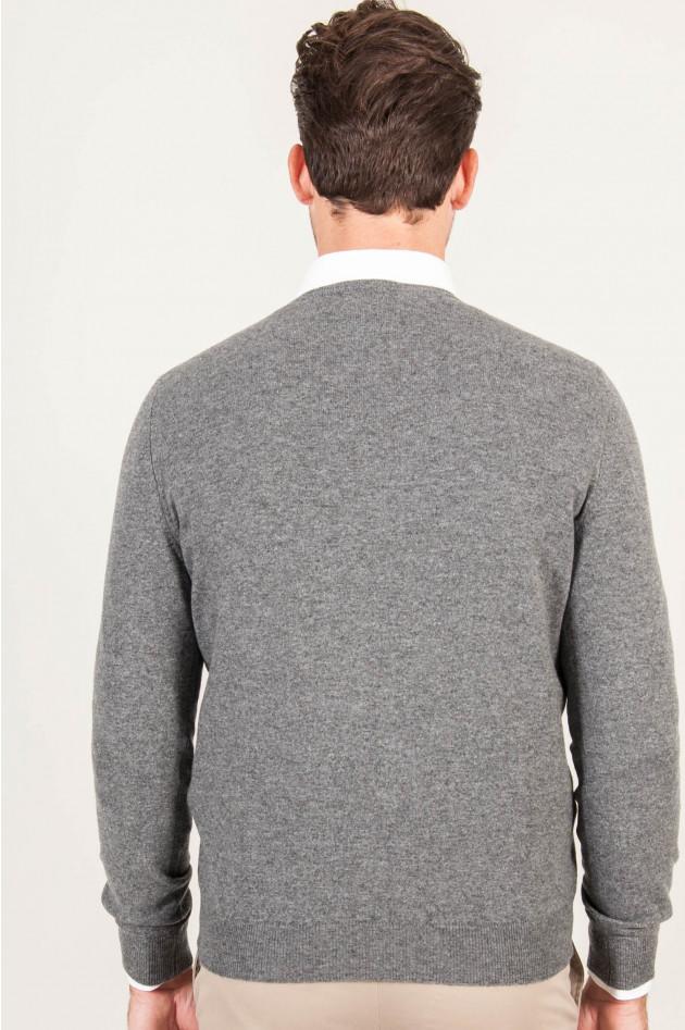 1868 Pullover aus Cashmere in Grau