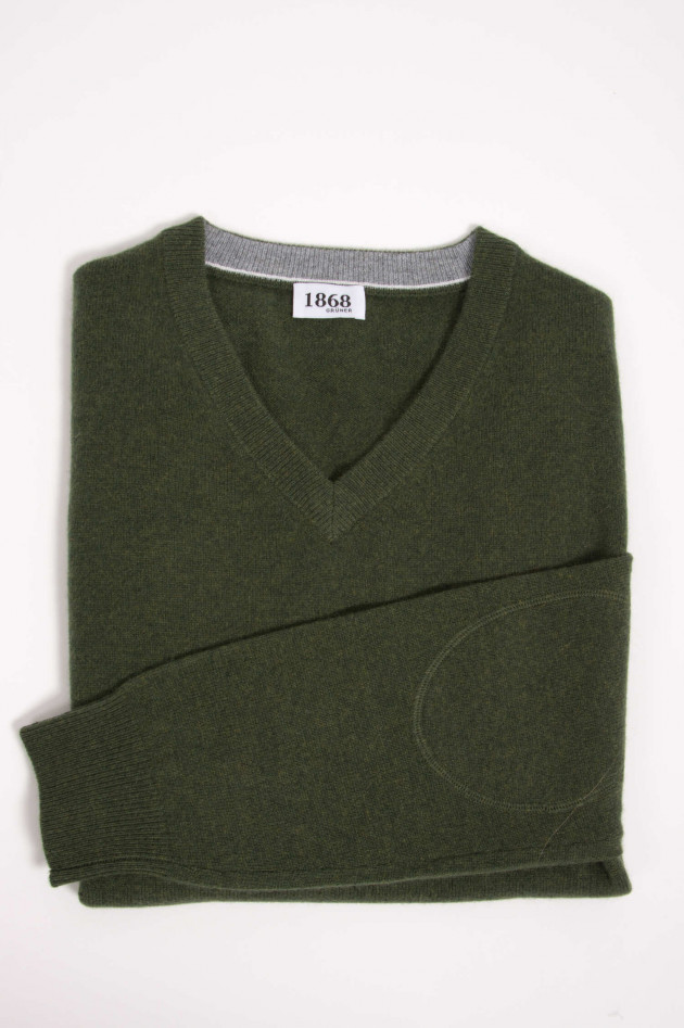 1868 Cashmere Pullover in Oliv