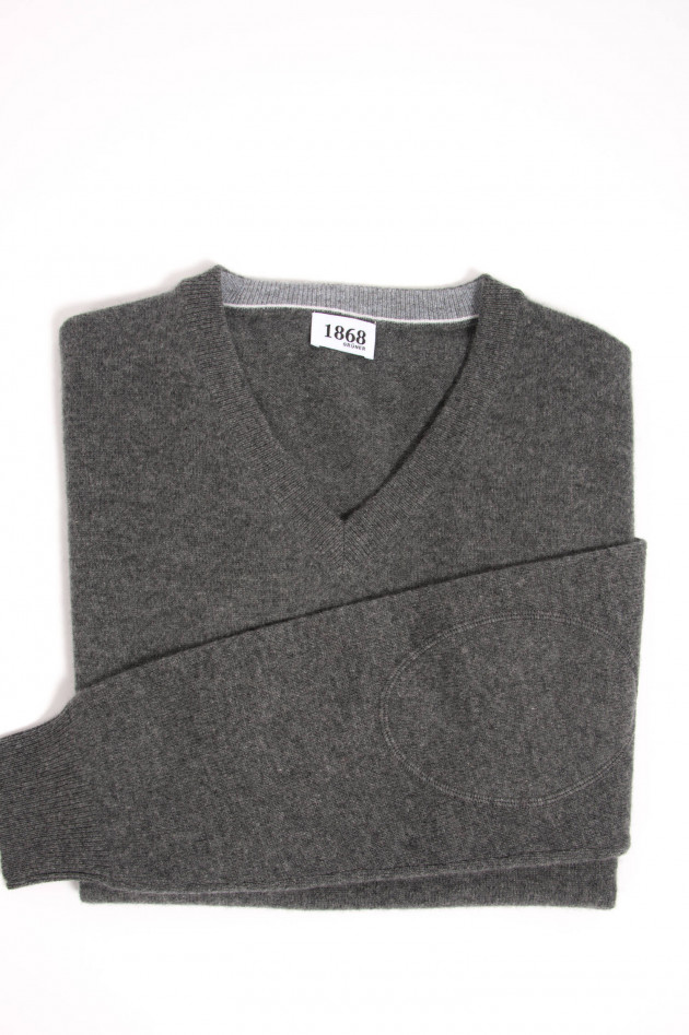 1868 Cashmere Pullover in Anthrazit
