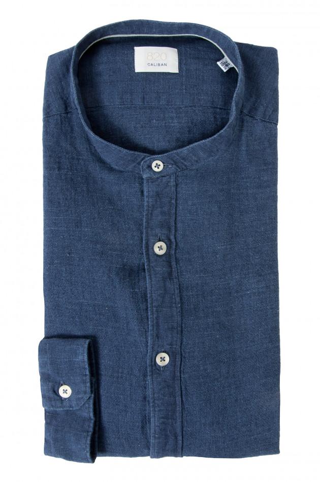 Gr ner online shop caliban jeanshemd in blau - Jeanshemd damen lang ...