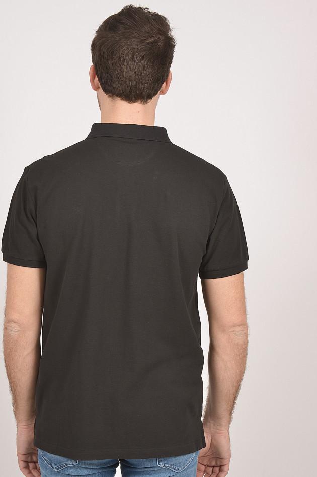 Hackett London Poloshirt in Schwarz