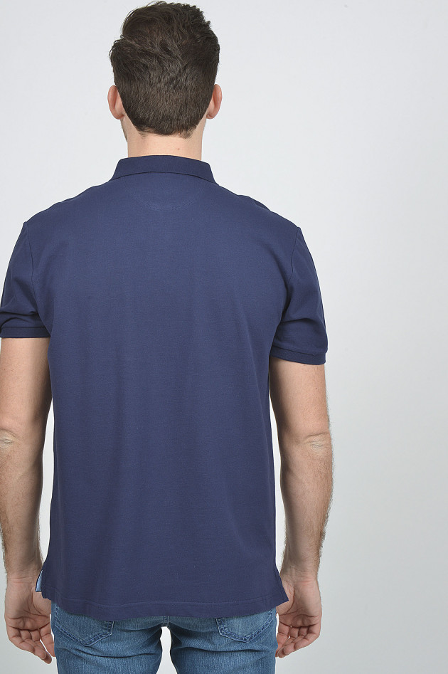 Hackett London Poloshirt in Navy
