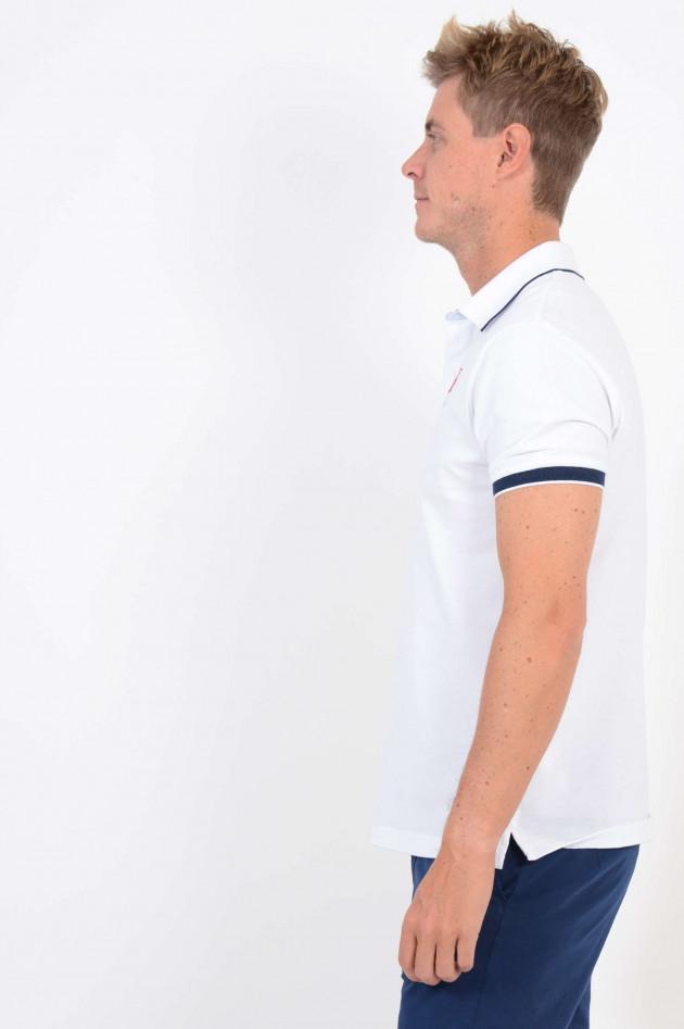 Hackett London Poloshirt in Weiß