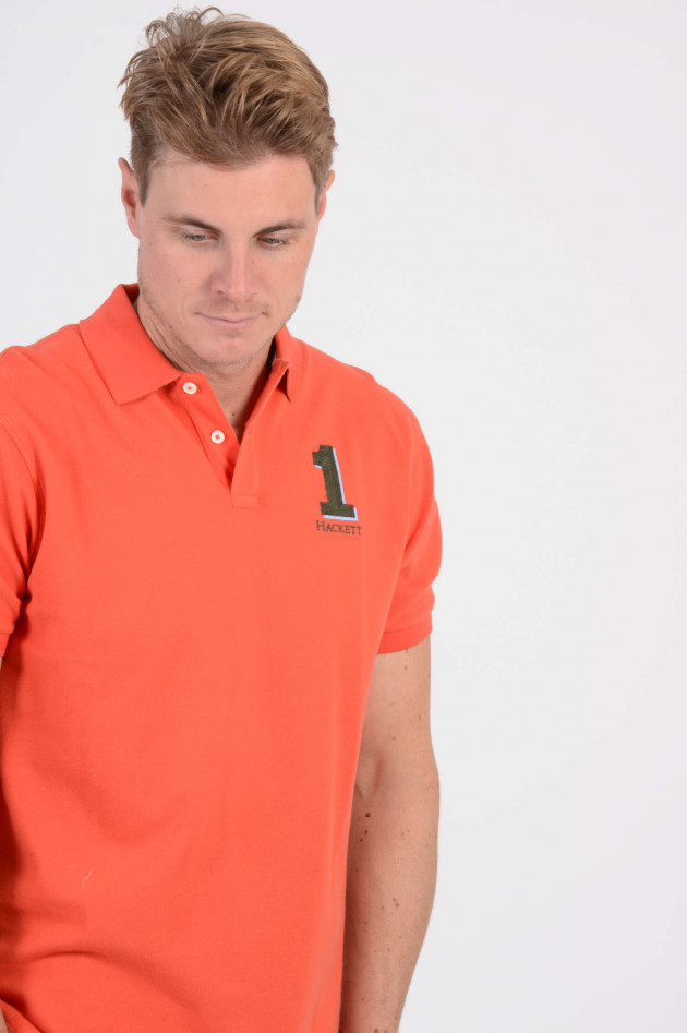 Hackett London Poloshirt in Orange