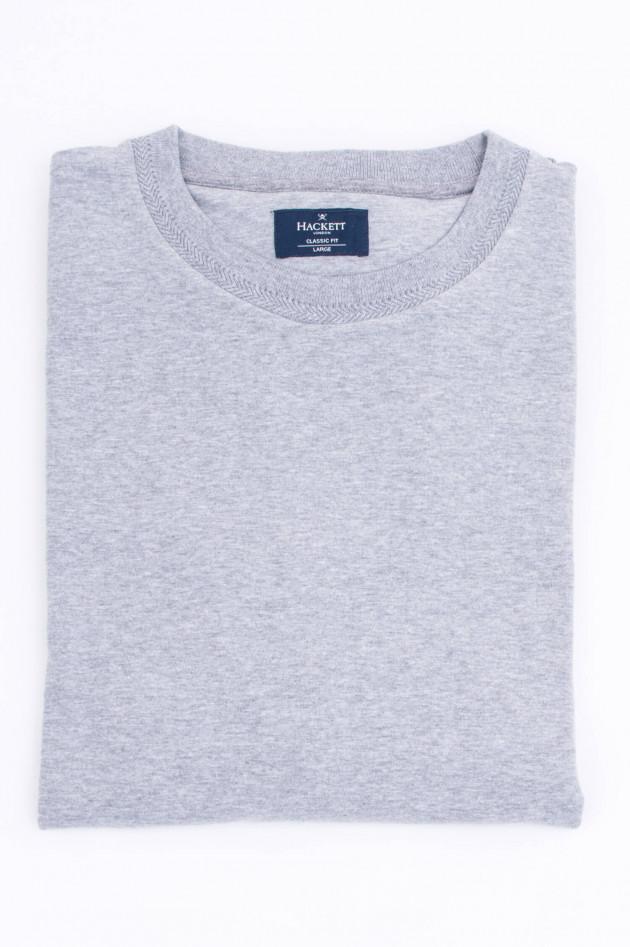 Hackett London Sweater mit Rundhals in Grau