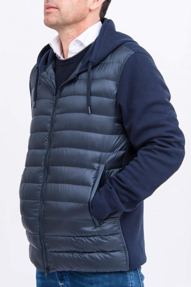 Herno Ultraleichte Jacke mit Daunenfront in Navy