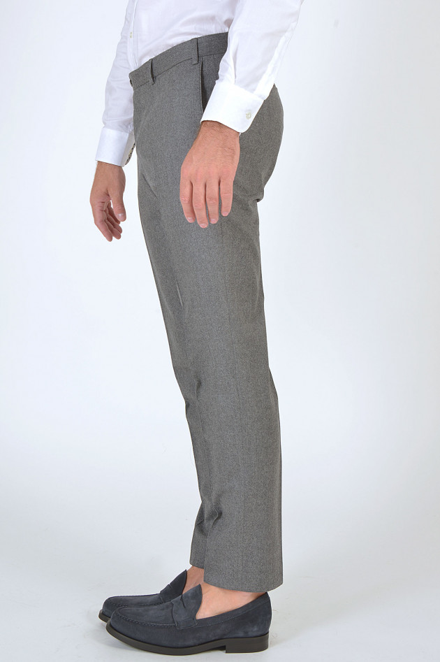 Hiltl Hose aus Wolle in Grau