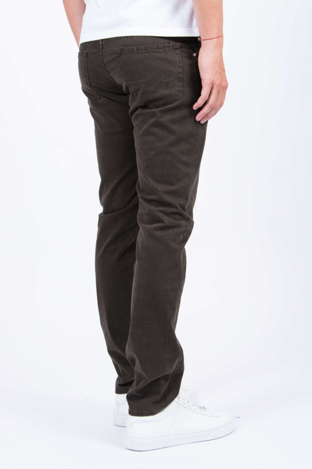 Jacob Cohën Hose COMFORT FIT in Braun