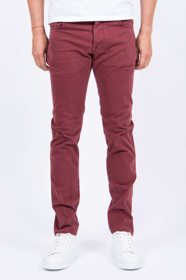 Jacob Cohën Hose COMFORT FIT in Rot