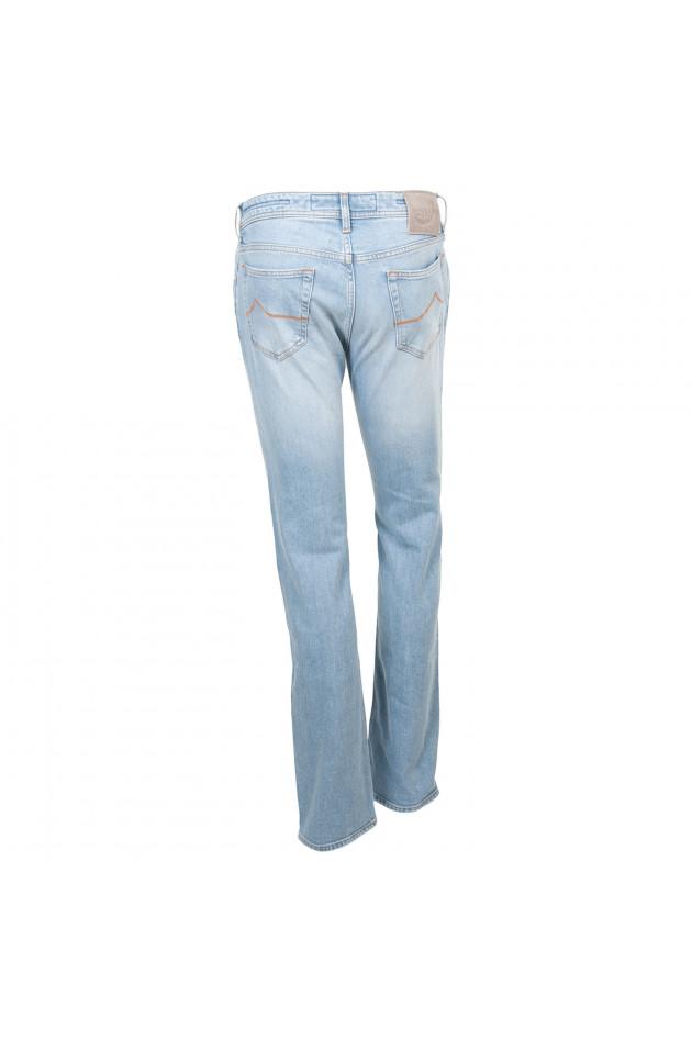 gr ner online shop jacob cohen jeans in hellblau. Black Bedroom Furniture Sets. Home Design Ideas
