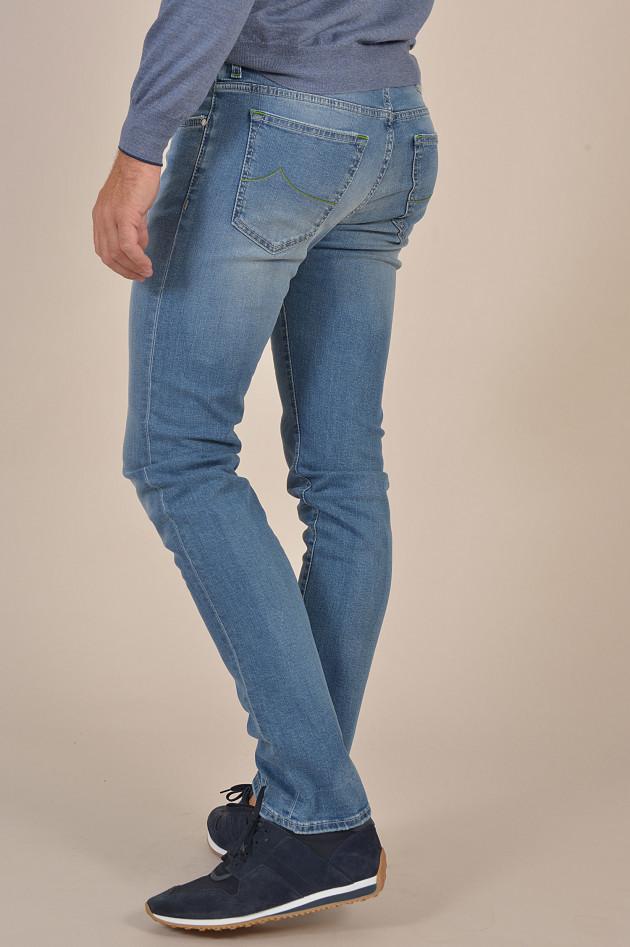jacob cohen jeans in hellblau gruener at. Black Bedroom Furniture Sets. Home Design Ideas
