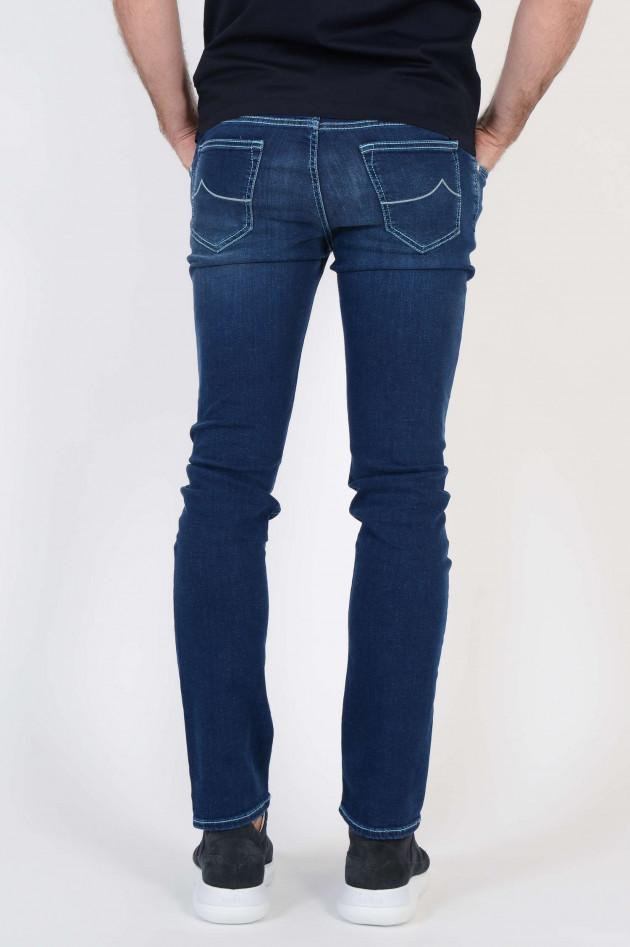 jacob cohen jeans in dunkelblau gruener at. Black Bedroom Furniture Sets. Home Design Ideas