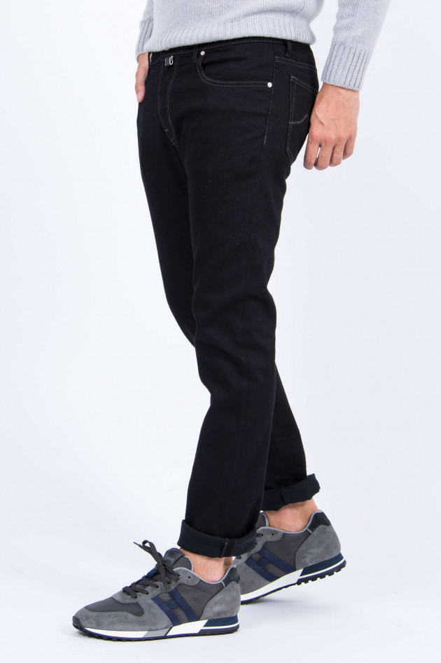 Jacob Cohën Jeans COMFORT FIT in Schwarz