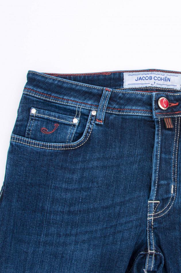Jacob Cohën Jeans COMFORT FIT in Mittelblau