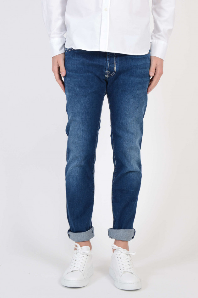 Jacob Cohen Jeans in Mittelblau