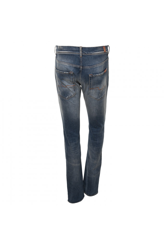 Seven for all Mankind Jeans RONNIE in Blau