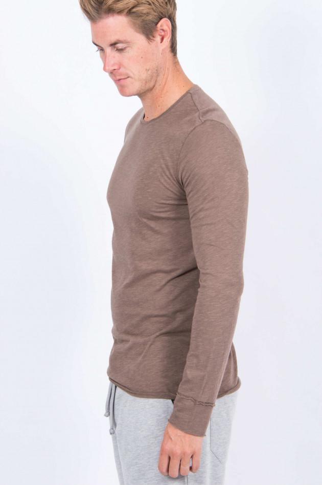 Juvia Langarmshirt in Khaki