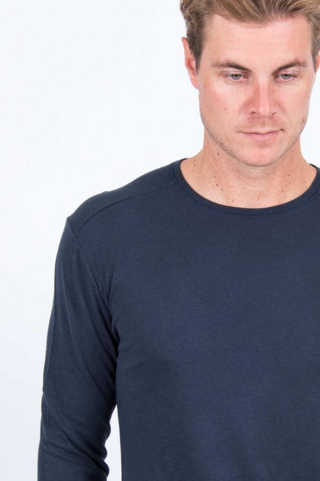 Juvia Cashmix Sweatshirt in Dunkelblau
