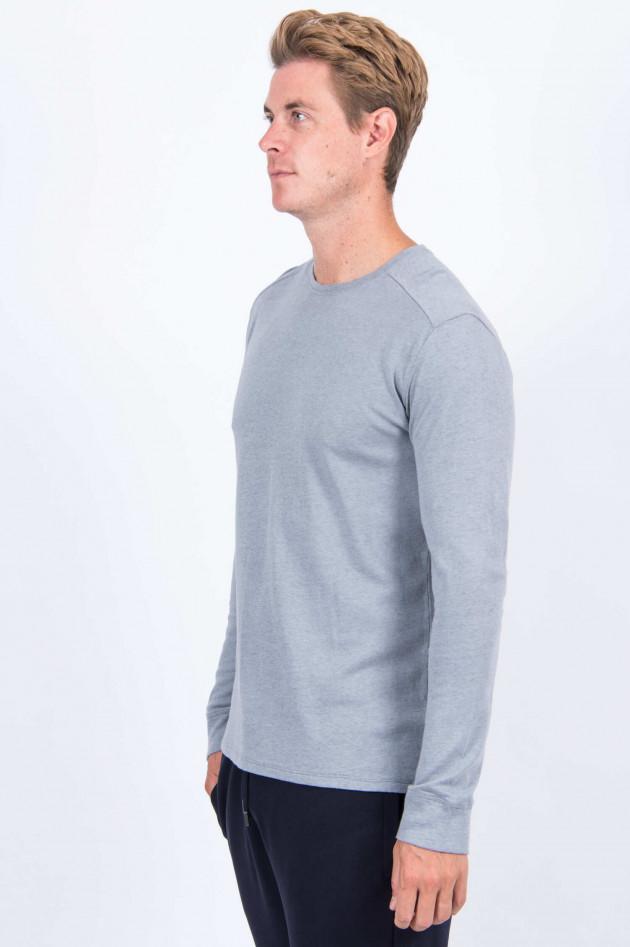 Juvia Cashmix Sweatshirt in Hellgrau