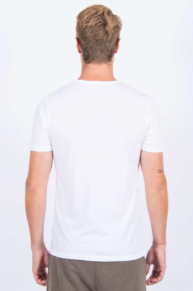 Juvia T-Shirt DAWN MOOD in Weiß