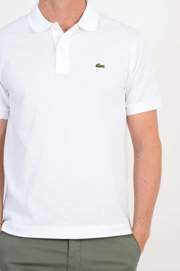 Lacoste Poloshirt aus Baumwolle in Weiß