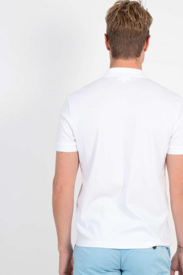 Lacoste Jersey Poloshirt in Weiß
