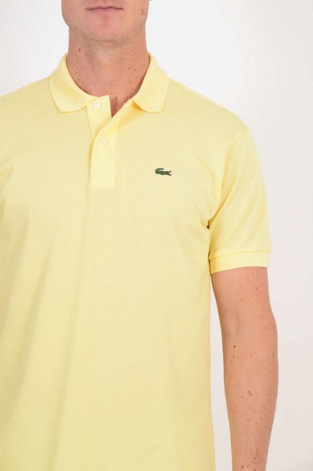 Lacoste Poloshirt aus Baumwolle in Gelb