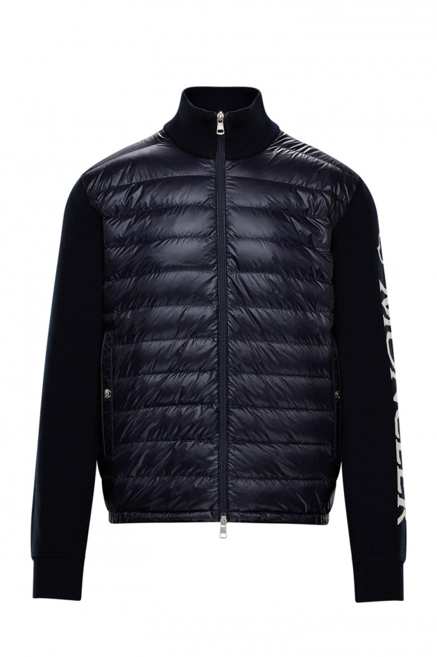 Moncler Jersey-Jacke CARDIGAN TRICOT in Navy