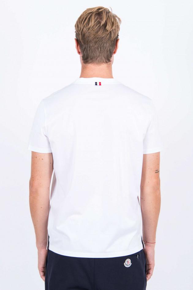 Moncler T-Shirt in Weiß