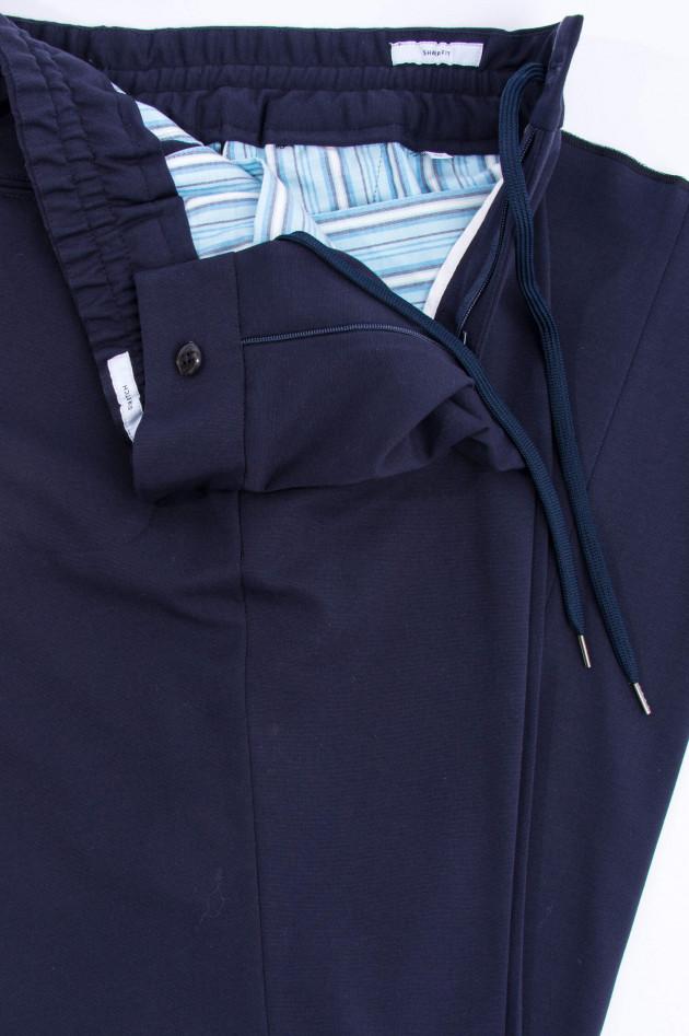PT01+PT05 Jersey-Freizeithose in Midnight
