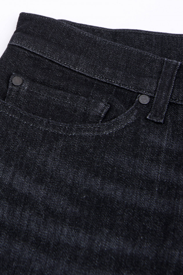 Seven for all Mankind Jeans RONNIE in Schwarz