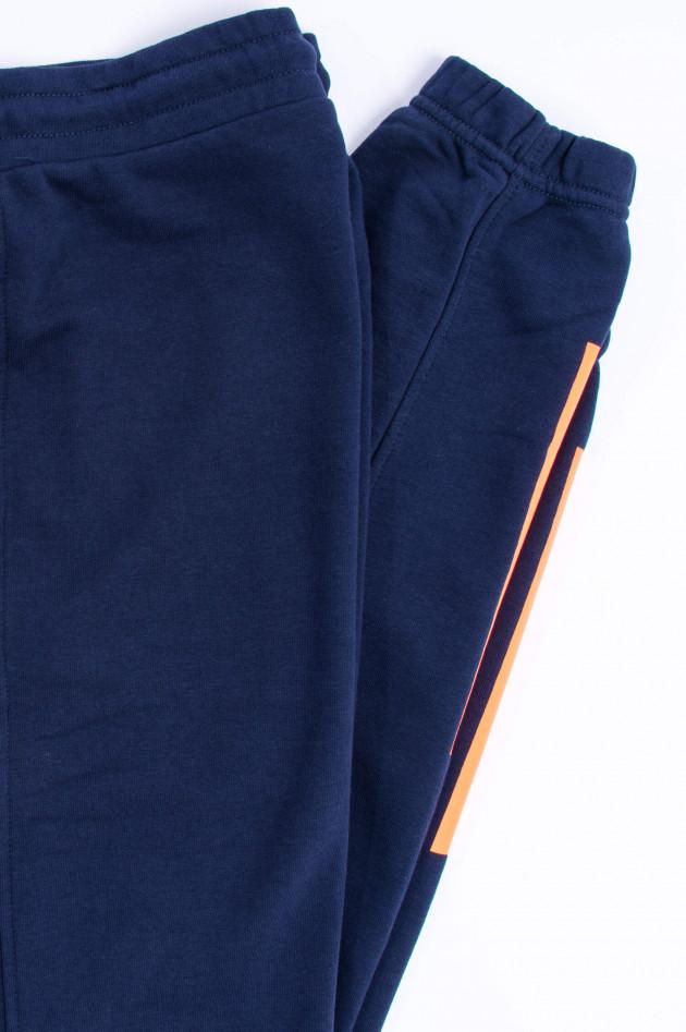Sun68  Moderne Freizeithose in Navy/Orange