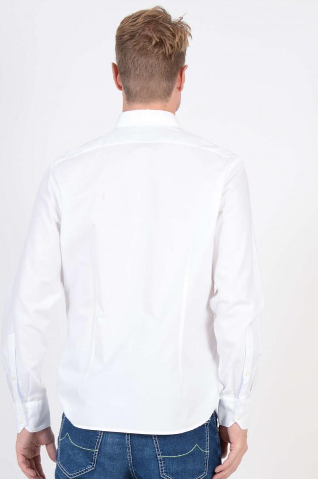 Van Laack Oxford-Hemd in Weiß