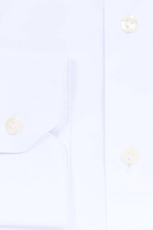 Van Laack Baumwollhemd SUPER SLIM FIT in Weiß