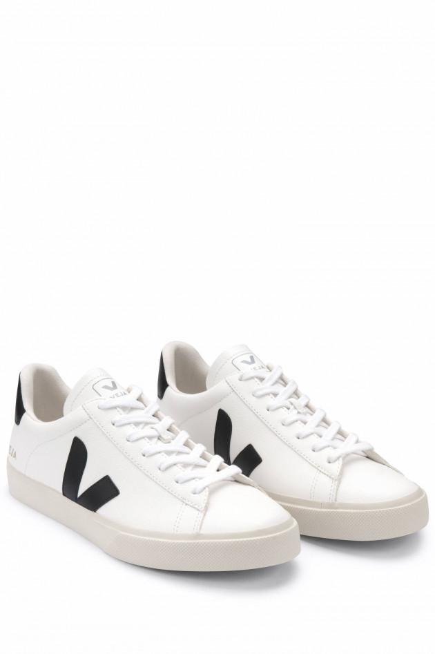 Veja Nachhaltiger Sneaker CAMPO in Weiß/Schwarz