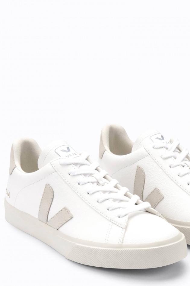 Veja Nachhaltiger Sneaker CAMPO in Weiß/Sand