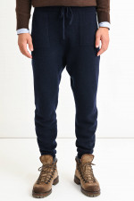 Cashmere Pants in Navy