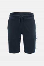 Kurze Sweatpants in Navy