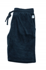 Frottee Shorts in Navy